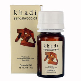 Khadi Sandalwood Oil - 15 ml