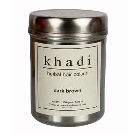 Khadi Herbal Dark Brown Henna - 150 Gms