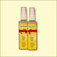 Woods and Petals Lemon Body Mist 100mL Set Of 2