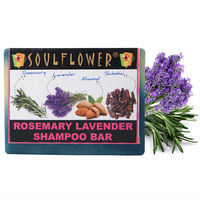 Soulflower Rosemary Lavender Shampoo Bar 100% vegan - 150 gms