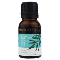Soulflower Tea Tree Essential Oil, 15ml