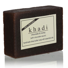 Khadi Chocolate Honey With Chocolate Sauce Soap - 100 Gms