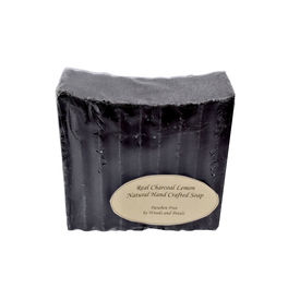 Woods and Petals Hand Crafted Lemon Charcoal Soap