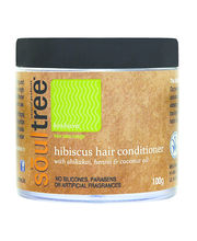 Soul Tree Hibiscus Hair Conditioner With Shikakai, Henna & Coconut Oil