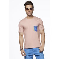 DUSG - Earthy Joy Men Crew Neck Short Sleeve Organic T-Shirt Colour: Renett, l