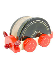 Red Bug Creative Wooden Wagon Holder - 250 Gms