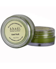 Khadi Natural Kiwi Fruit Lip Balm - With Beeswax...