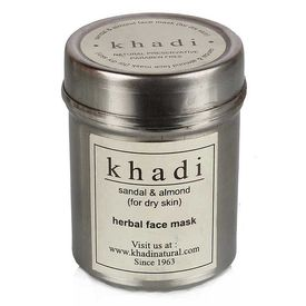Khadi - Sandal & Almond Face Mask (for dry skin)