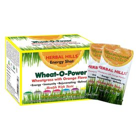 Herbal Hills Wheat O Power Orange Flavour 2G X 30