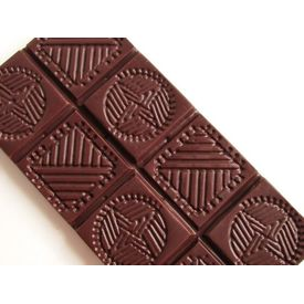 Earth Loaf 72% Raw Dark Chocolate Bar 72Gms (Pack of Two)
