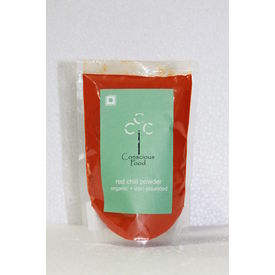 Conscious Food Organic Red Chilli Powder 100Gms