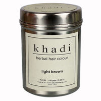 Khadi Herbal Light Brown Henna - 150 Gms