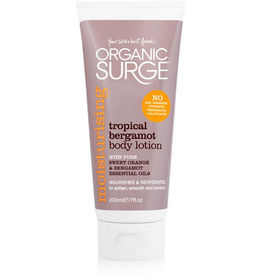Organic Surge Tropical Bergamot Body Lotion 200mL