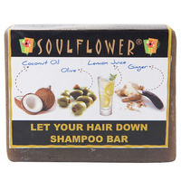 Soulflower Let Your Hair Down Shampoo Bar Soap - 150 gms