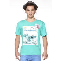 DUSG Travel Journals Men's Organic T-Shirt Colour: Atlantis, l