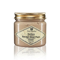 Just Herbs Sanface Skin Tightening Sandal Glow Pack - 150 gms