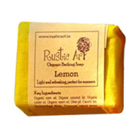 Rustic Art - Organic Lemon Soap - 100 gms