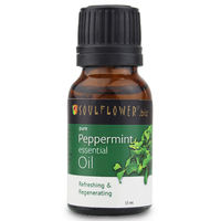 Soulflower Peppermint Essential Oil -15 ml