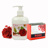 Soulflower Rose Aroma Body Care - 250 ml