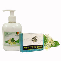 Soulflower Tea Tree Aroma Body Care - 550 gms