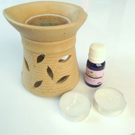 SOIL Clay Look Burner with Lavender Oil 10mL