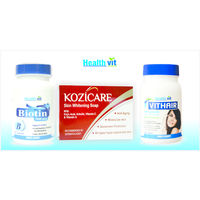 HealthVit Total Fairness & Hairfall Treatment Kit