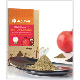 Maduban Naturals Pomegranate Revitalizing Hair Conditioner Pack - 100 Gms