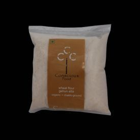 Conscious Food Organic Wheat Atta 500Gms