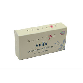 Azafran Extra Mild Lemongrass & Ginger Organic Bathing Soap - 100 gms