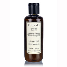 Khadi Henna Rosemary & Henna Hair Oil - 210 ml