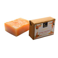Natural Bath and Body Honey Mandarin Bathing Bar 125 gm