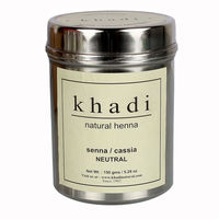 Khadi Herbal Natural Henna (Senna / Cassia) - 150 Gms