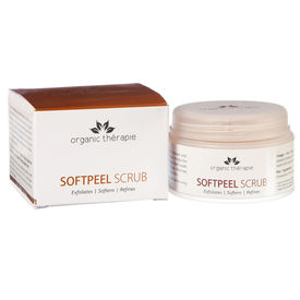Organic Therapie - Softpeel Scrub - 50 Gms