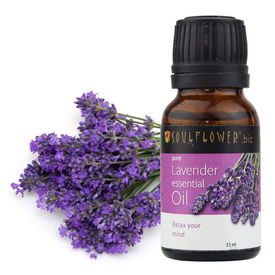 Soulflower Lavender Essential Oil, 15ml