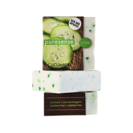Puresense Triple Milled Fruit Soap - Cucumber 100gms
