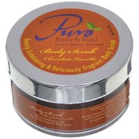 Puro Chocolate Vanilla Body Scrub - 60 gms