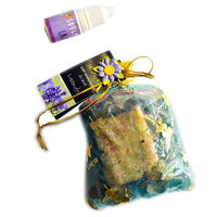 Soulflower Aroma Pouch Lavender (With Bottle) - 50 gms