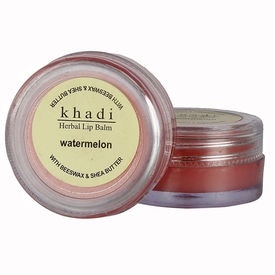 Khadi Natural Watermelon Lip Balm - With Beeswax & Shea Butter