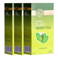 LaPlant Tulsi Green Tea - 100 gm, pack of three