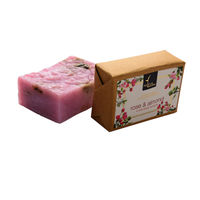 Natural Bath and Body Rose & Almond Bathing Bar 125 gm