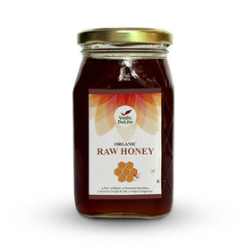 Vedic Delite Organic Raw Honey 500Gms