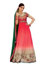 Fabnil Embroidered Gown (683-TPQ3206), multicolor