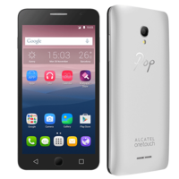 ALCATEL POP STAR 5022D 8GB 3G DUAL SIM,  metallic silver