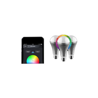 NIKKEI LUXXUS STARTER PACK 3 MULTICOLOR LIGHTBULBS