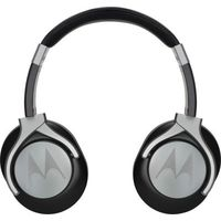MOTOROLA PULSE STEREO MAX HEADPHONES,  black