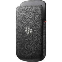 BLACKBERRY Q10 LEATHER POCKET RIM,  black