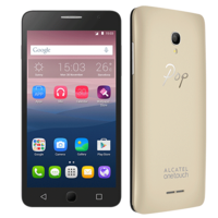 ALCATEL POP STAR 5070D 8GB 4G DUAL SIM,  metallic gold