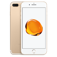 APPLE IPHONE 7 PLUS,  gold, 128gb