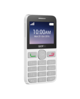 ALCATEL 2008 DUAL SIM 8MB RAM,  black