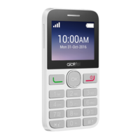 ALCATEL 2008 DS ARABIC,  black/white